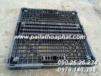 PALLET NHỰA 2 MẶT 1100X1100X120MM