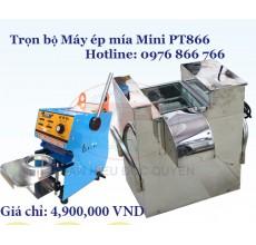 Bộ máy ép mía Mini PT-866 200W