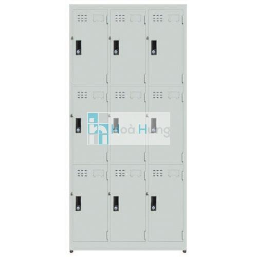 Tủ locker sắt 9C - 3D