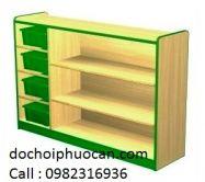Kệ gỗ 7 ngăn PA3327