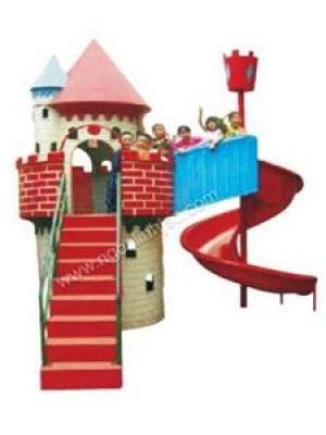 Cầu trượt lâu đài