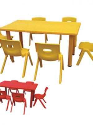Bàn ghế mẫu giáo BG