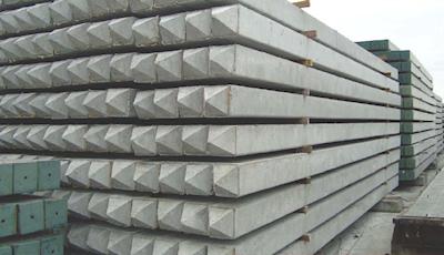 Cọc vuông bê tông dự ứng lực và thường