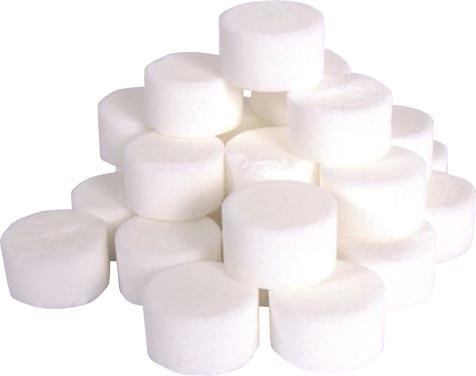 Cồn khô tròn trắng