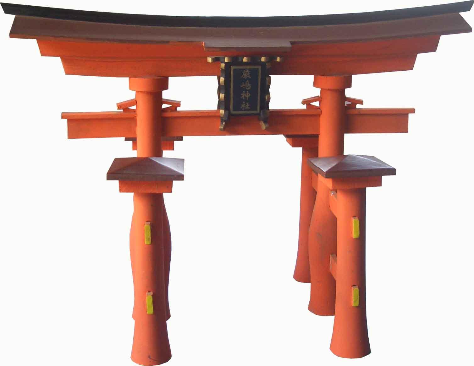 Cổng đình gỗ