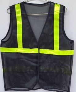 Áo lưới phản quang màu tím than