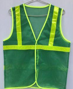 Áo lưới phản quang màu xanh lá cây
