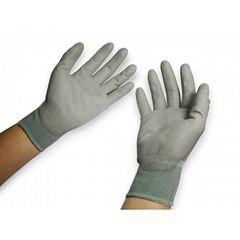Găng tay PU phủ bàn, màu xanh
