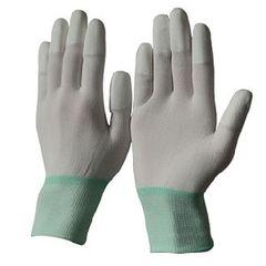 Găng tay phủ PU ngón, trắng
