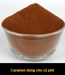 Caramen dùng cho cà phê