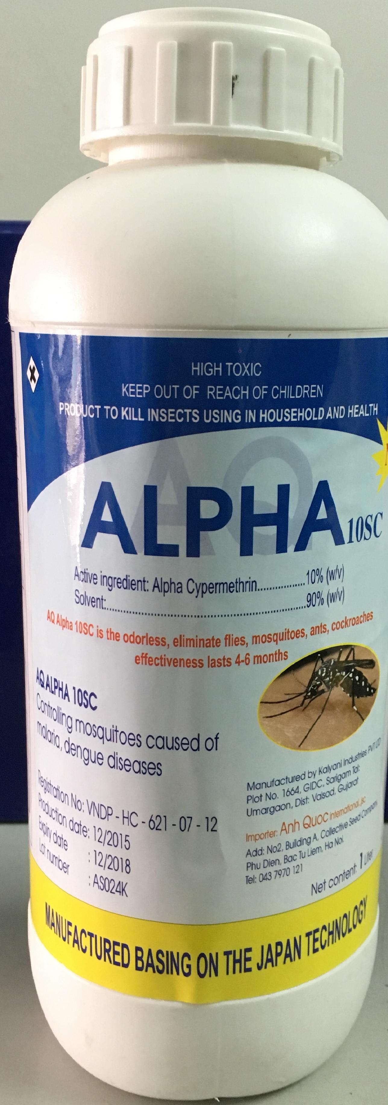 Thuốc diệt muỗi Alpha 10SC