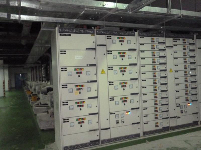 Lắp đặt tủ bảng điện