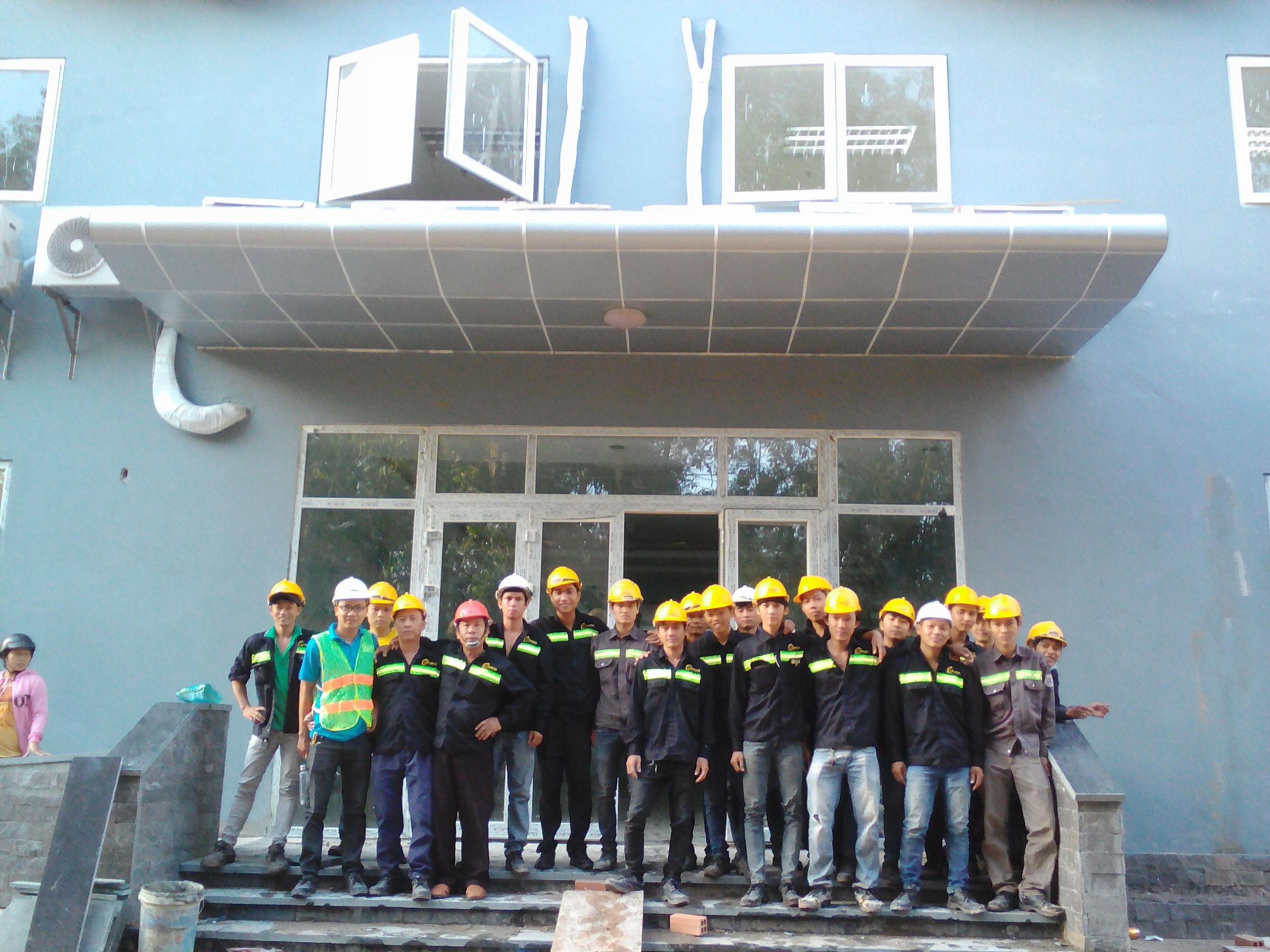 Thi công nhà Sun Home Phú Quốc