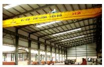 Cầu trục nhà xưởng Công ty