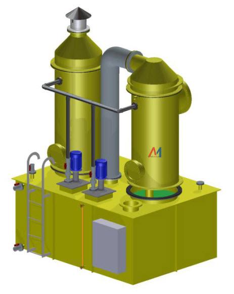 Tháp xử lý khí độc