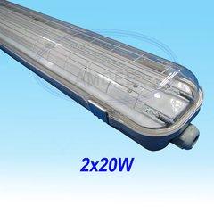 Bộ Đèn LED Đôi Chống Thấm IP65 Tích Hợp 1,2m/2x20W