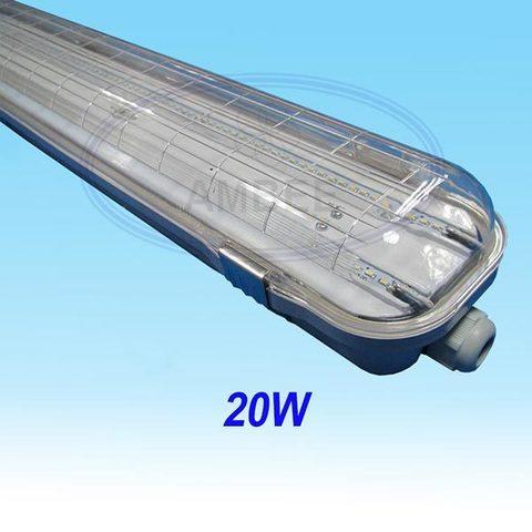 Bộ Đèn LED Đơn Chống Thấm IP65 Tích Hợp 1,2m/20W