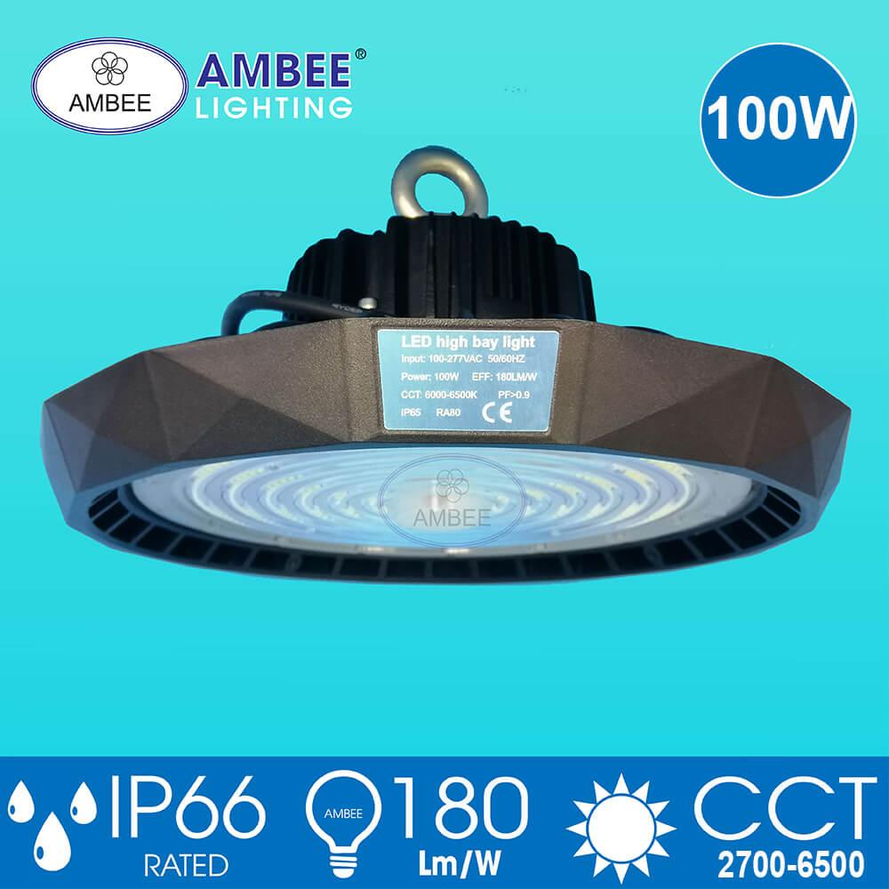 Đèn Led Nhà Xưởng UFO 100W