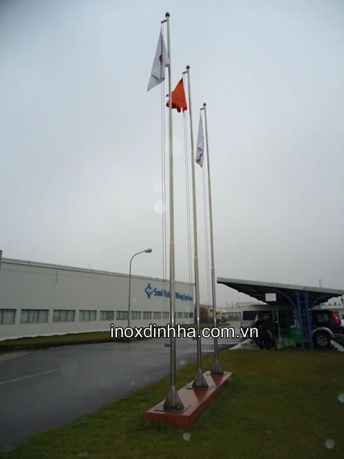 Cột cờ inox
