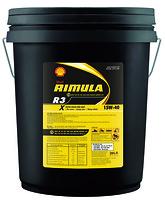 Dầu động cơ Shell Rimula R3 X 15 W - 40