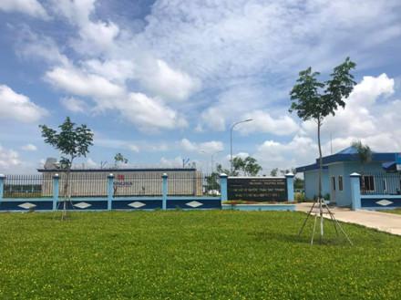 Nhà máy xử lý nước thải KCN Đất Đỏ 1