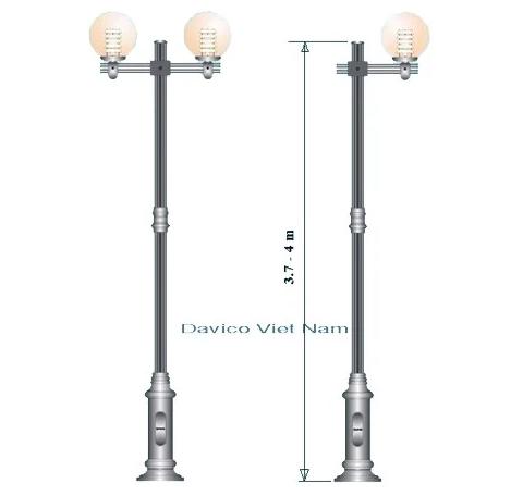 Cột đèn sân vườn NOUVO - ARLEQUIN