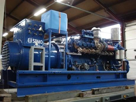 Máy phát điện Diesel MTU 16V2000