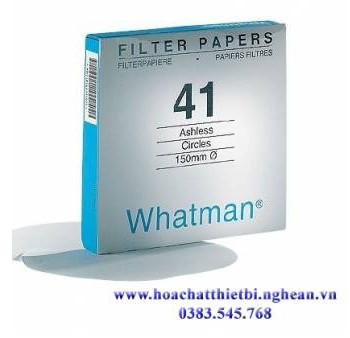 Giấy lọc định lượng Whatman