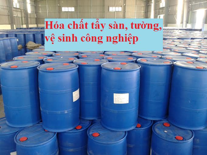 Chất tẩy sàn - vệ sinh công nghiệp