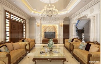 Thiết kế nội thất tân cổ điển