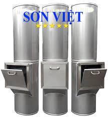 Ống thu rác inox 304