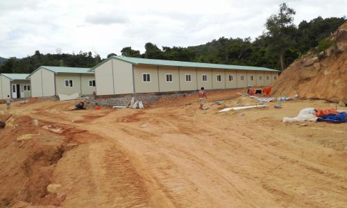 Nhà lắp ghép, lán trại công trường
