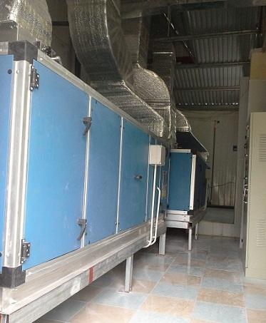 Hệ thống máy xử lý không khí AHU