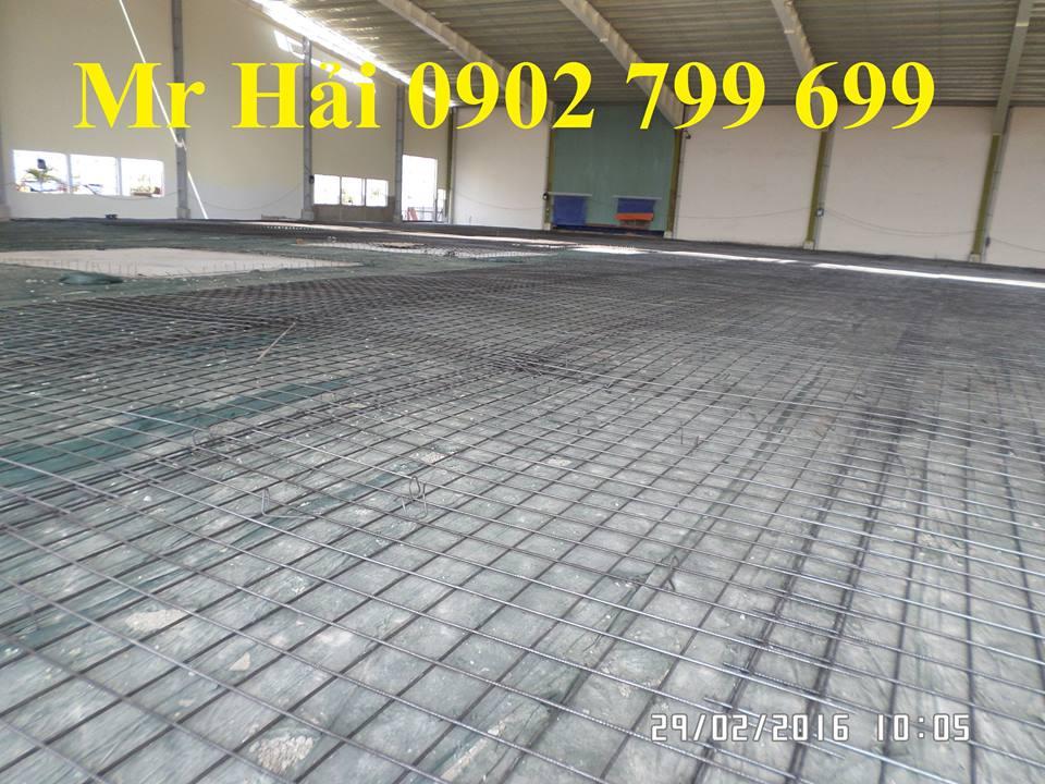 Lưới thép hàn đổ bên tông