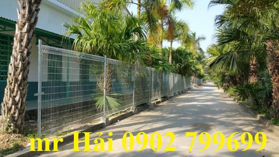 Hàng rào mạ kẽm