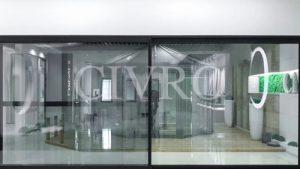 Cửa nhôm trượt 2 ray Civro CPT140