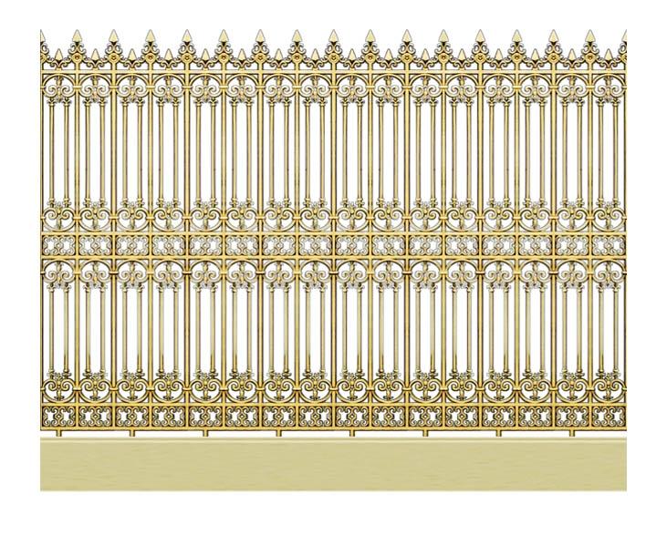 Hàng rào nhôm đúc đẹp