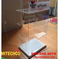 Tủ mica trưng bày làm tại xưởng giá rẻ, chất lượng