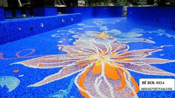 Gạch mosaic tạo hình