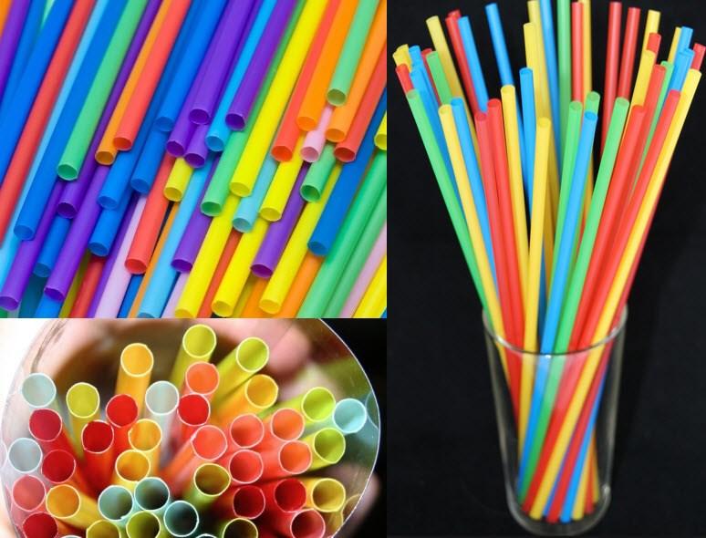 Ống Hút Nhựa (Màu)