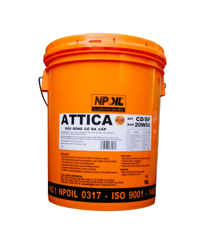 Dầu Attica 800