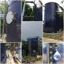 Bể lọc Aqualo - Cải tạo trạm cấp nước TT Cầu Kè