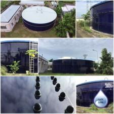 Bể chứa - Hệ thống cấp nước đô thị Tiểu Cần