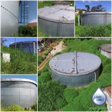 Lắp đặt bể chứa thép đồi Resimer