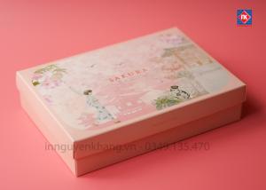 Hộp giấy Sakura