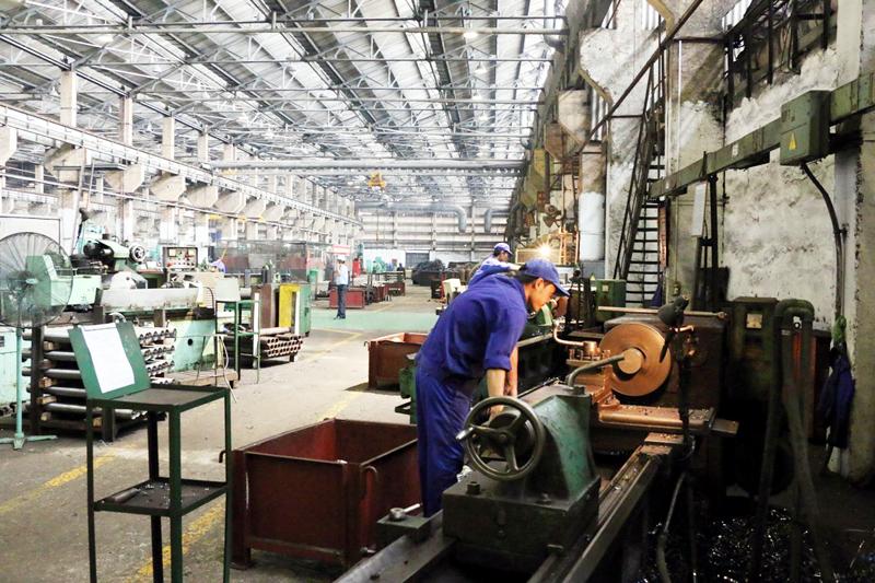 Gia công chế tạo máy