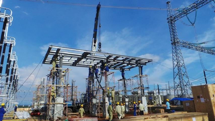 Xây lắp công trình điện