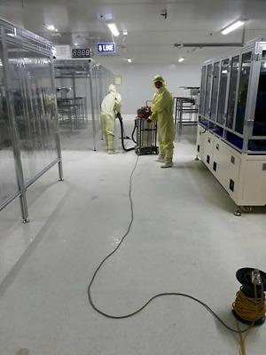 Vệ sinh phòng sạch tại Thái Nguyên