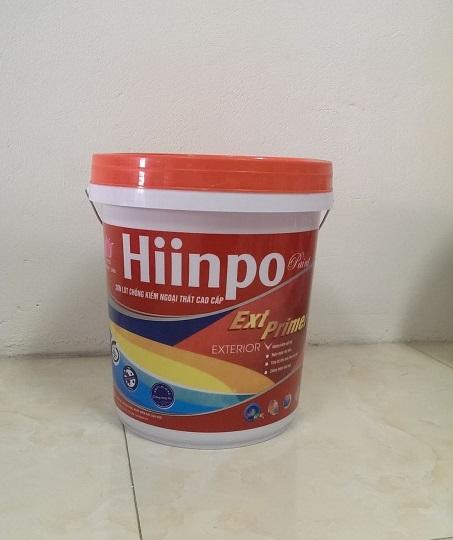 Sơn lót Hiinpo chống kiềm ngoại thất cao cấp
