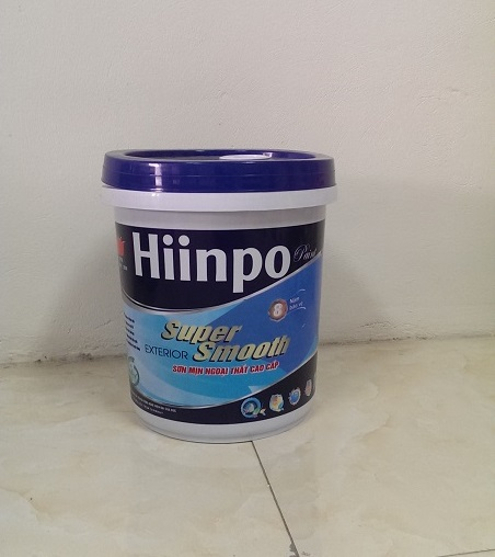 Sơn mịn Hiinpo ngoại thất cao cấp